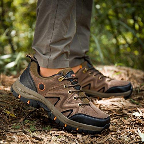 XI-GUA ,  Scarpe da camminata ed escursionismo uomo Marrone