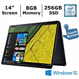 Acer Aspire R 14 2-in-1 Convertible 14 inch FHD Ips Touchscreen Laptop, Intel