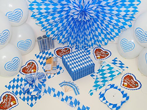 Preisvergleich Produktbild Partyset Oktoberfest XXL