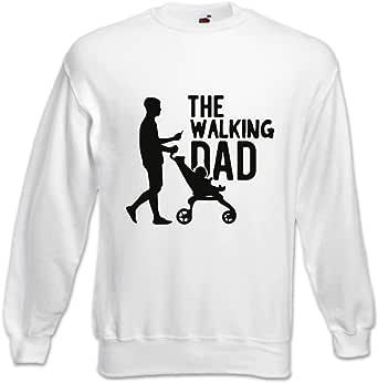 """Felpa Idea Regalo Per il Papà /""""The Walking Dad/"""""""