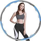 BENEFAST Hoola Hoop Reifen Erwachsene, Gewichteter Hoop Einstellbare Größe für Reifen Erwachsene Kinder, Hoola Hoop für…