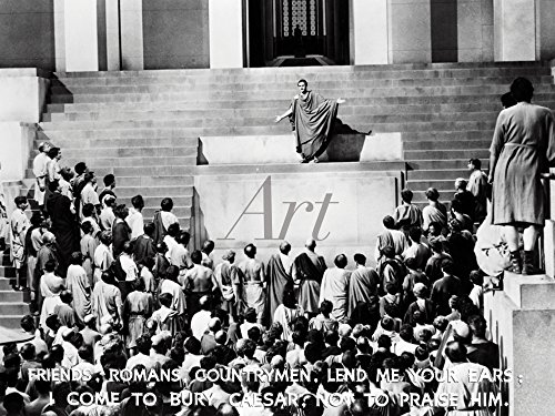 lder I Wandtattoo Wandsticker Wandaufkleber 40 x 30 cm Film TV Stars Foto Schwarz Weiß D0AG Julius Caesar 1953 (Frau Caesar Kostüme)
