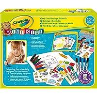 Crayola Mini Kids - 10570 - Kit de Loisir Créatif - coloriage gommettes