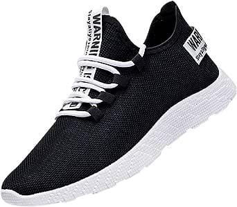 Riou Sportive Sneakers Uomo Traspiranti Morbida Scarpe da Trekking Scarpe da Viaggio Scarpe da Corsa Antiscivolo Corsa Sportive Fitness All'aperto