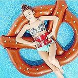 JYSPORT Aufblasbare Einhorn - Einhorn pool Floß Schwimmen, Inflatable schwebebett Unicorn Luftmatratzen Float Toy (scallop)