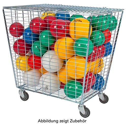 Ballwagen Exklusiv für Sporthallen Gitterwagen Vielzweckwagen Ballbox, fahrbar