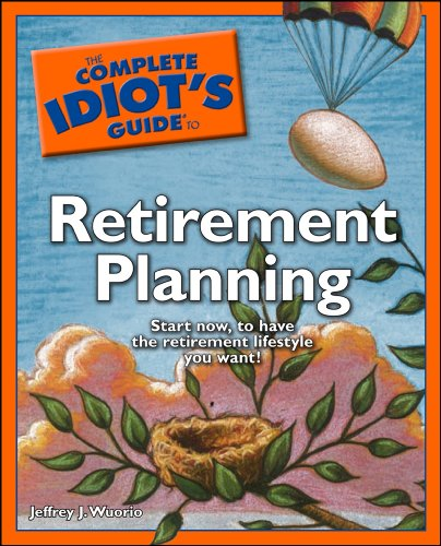 The Complete Idiot S Guide To Retirement Planning Complete Idiot S Guides Lifestyle Paperback