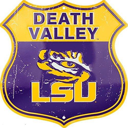 Death Valley-LSU Tigers Shield Schild (Valley City State University)