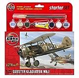 Airfix A55206 Modellbausatz Gloster Gladiator Starter Set
