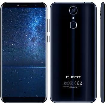 Cubot X18 Smartphone 4G FDD-LTE Android 7.0 5.7 Pollici MTK6737T 1.5GHz Quad Core 3GB RAM+32GB ROM Cameras 13MP+16MP Batteria 3200mAh Impronta Digitale Luce di Notifica