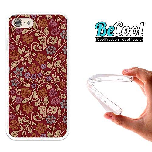 BeCool®- Coque Etui Housse en GEL Flex Silicone TPU Iphone 8, Carcasse TPU fabriquée avec la meilleure Silicone, protège et s'adapte a la perfection a ton Smartphone et avec notre design exclusif. Des L1289
