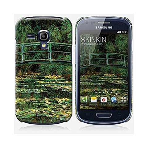 Samsung Galaxy S3 Mini Case, Gehäuse, Schutzhülle - Originales Design : Le Pont Japonais von Claude Monet
