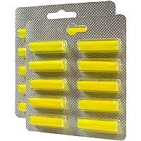 TOP - 20 pcs (Pack of 20) (Lemon Scent) Vacuum Cleaner Hoover Air Freshener Fragrance Sticks FOR Clatronic BS 1204…