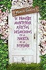 Se prohíbe mantener afectos desmedidos en la puerta de la pensión par Sánchez