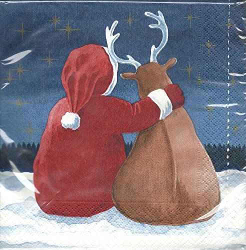 TIB Heyne Servietten Winter Friends 33x33cm, 3-lagig, 20 STK./ Packung