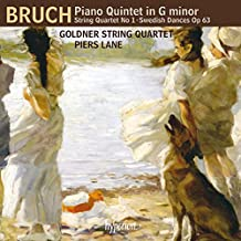 Max Bruch : Quintette pour piano. Lane, Quatuor Goldner.