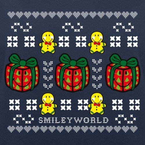 Smiley World Noël Cadeaux Pain D'Épices Sweat-shirt Femme Stanley & Stella de Spreadshirt®‎ Bleu Marine