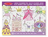 Melissa & Doug Jumbo 50-Page Kids' Coloring Pad Activity Book - Princess and Fairy