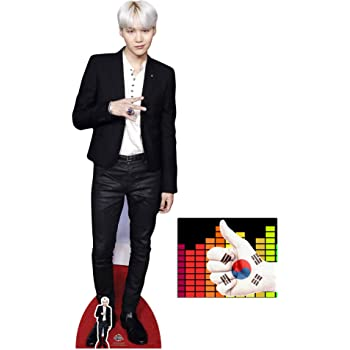 Jimin Bangtan Boys Lifesize and Mini Cardboard Cutout Fan Pack