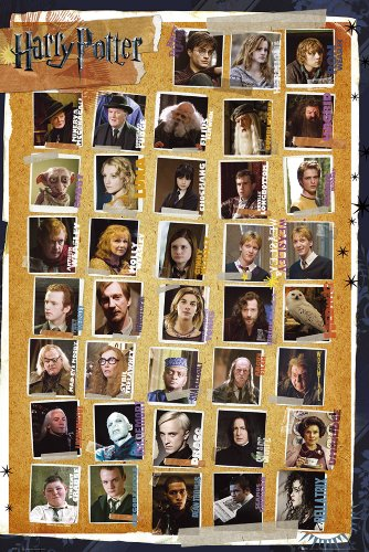 GB eye, Harry Potter 7, Personajes, Maxi Poster, 61x91.5cm