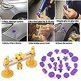 Auto Body Paintless Dent Repair Kit Neue Design Brücke Dent Puller Set Pops Eine Dent Werkzeuge Mit 24 Stücke Verschiedene Lila Kleber Ziehen Tabs Handwerkzeuge