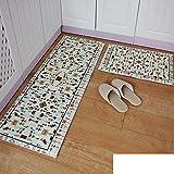 Alfombras impresión ambientales/Mat/Estera absorbente/Tira esteras del piso de la cocina-F 40x60cm(16x24inch)