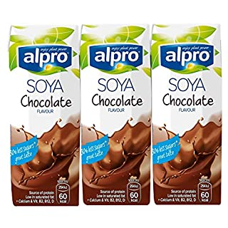 Alpro Soya Chocolate Flavour U.H.T., 3 x 250ml