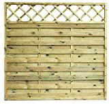 Avanti Trendstore Cremona - Sichtschutzwand aus Kieferholz massiv, imprägniert, in 3 verschiedenen Größen verfügbar (180x180cm)