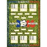 Fußball EM 2016 Spielplan als Poster