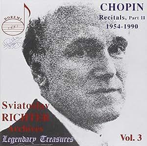 Sviatoslav Richter Archives, Vol.3 [IMPORT]