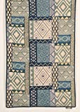 #6: Contrast Living Cotton Printed Rug ( Size- 3x5 Feet)