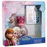 Disney Reine des Neiges - Frozen Coffret Eau de Toilette pour enfant 30 ml + Bracelet + Boucles d'Oreilles...