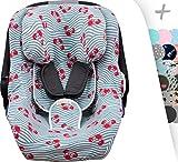 Bezug für Jané Koos I-Size, Concord Neo Air Safe und Romer Baby Safe Janabebe® (Crabby)