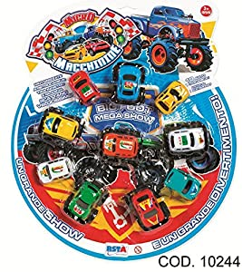 Rstoys - Ronchi Supe-Blíster 10Coches Micro retroc,, 3.st10244