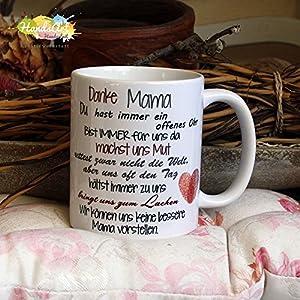 Kaffeebecher ~ Tasse - Danke Mama (WIR)