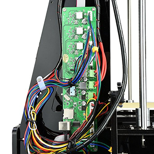 Aufgerüstete Version- ALUNAR 3D Desktop Drucker Self Assembly Reprap Prusa I3 Kit mit Filament - 3
