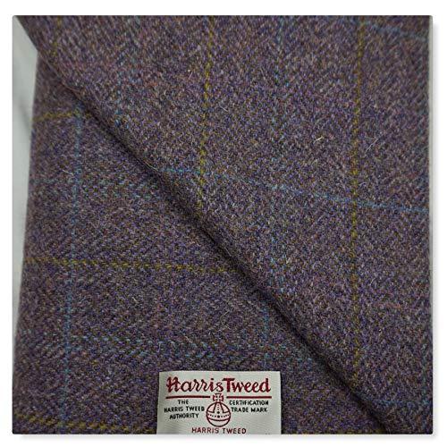 Harris Tweed-Stoff, 100% Reine Wolle, mit Etiketten, 75 x 50 cm aug26 - Siehe die Ganze Reihe von...
