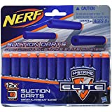 Nerf Nstrike Elite Universal Suction Dart, Multi Color (12 pack)