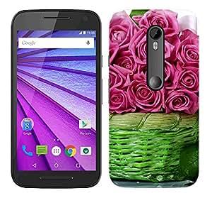 WOW 3D Printed Designer Mobile Case Back Cover For Motorola Moto G (3rd Generation) / Moto G3