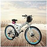GTYW Elektrische Klapp Fahrrad Mountainbike Moped Elektrische Männlichen 350 Watt 48 V * 26 \