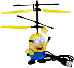 Minons Aircraft Flying Minion Hand Induction Control With Led Light - Yellow