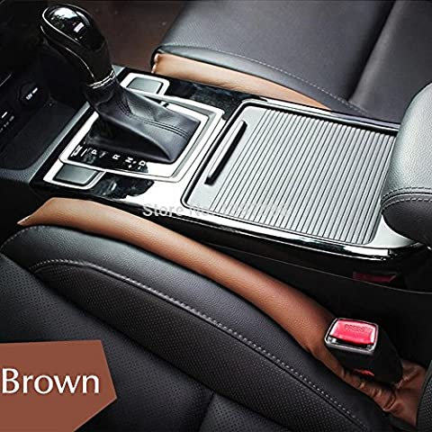 Tocoss(TM) Car Seat Gap Filler Soft Pad Padding Spacer For B M W E46 E52 E53 E60 E90 E91 E92 E93 F01 F30 F20 F10 F15 F13 M3 M5 M6 X1 X3 X5