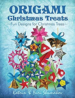 origami christmas treats paper fun for christmas trees