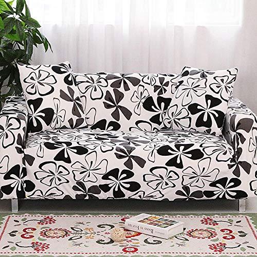 Sofabezug Floral Bedruckte Sofa Couch Cover Hussen Elastische Stretch Möbel Protektoren Für Wohnzimmer Sofa Handtuch1/2/3/ 4- @ Farbe 5 4-235-300Cm