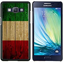 Graphic4You Italia bandera italiana madera Carcasa Funda Rigida para Samsung Galaxy A5