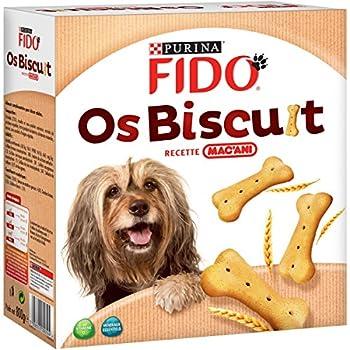 Fido Os Biscuits Recette MAC?ANI - 800 g - Friandises pour Chien - Lot de 5