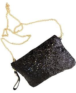 1c2e2b8ae12a5 niceeshop(TM) Vintage Paillett Party Abend Tasche Kupplungs Handtasche