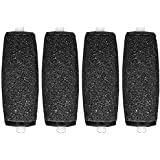 The Pedi Store (Tm) Velvet Replacement Rollers Compatible With Scholl Velvet Smooth Express Pedi & Pedi Perfect Electronic Pedicure Foot Files (4 Pack)