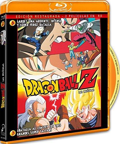 Pack Dragon Ball Z. ¡Batalla Al Límite! Los 3 Grandes Super Saiyans+ ¡Arde! Una Ardiente, Intensa Y Super Feroz Batalla [Blu-ray]