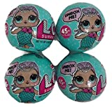 #10: L.O.L. Set of 4 LOL Surprise Dolls Series 1 Wave 2 - MGA Entertainment